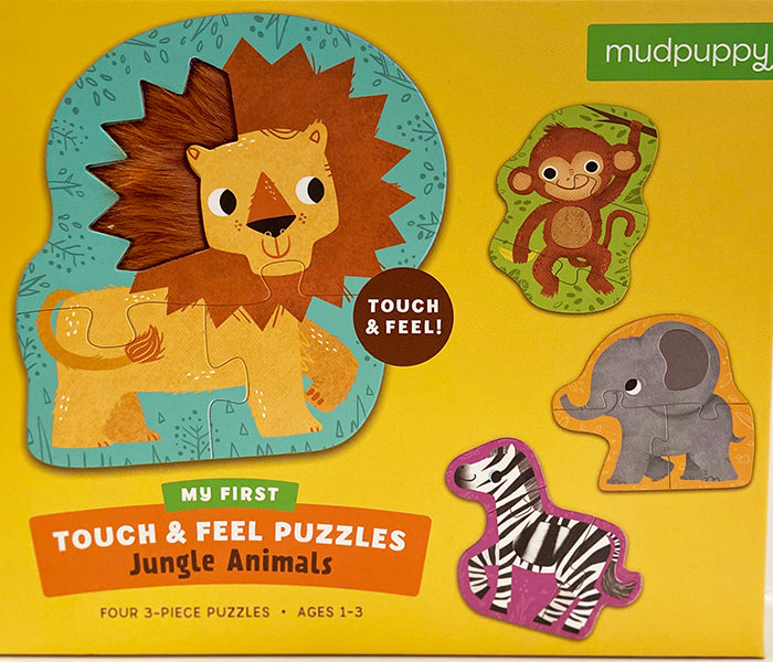 Jungle Animals Touch & Feel Puzzle
