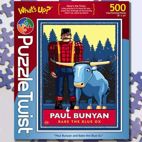Paul Bunyan and Babe Puzzle