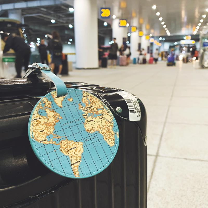World Traveler Luggage Tag by Kikkerland Design