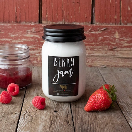 13 oz Berry Jam Candle by Milkhouse Candle co.