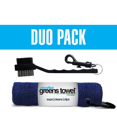 Greens Duo Towel w/Brush 20% OFF - Buy 2 Get FREE Shipping!