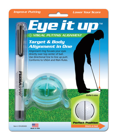 Eye It Up™ Visual Putting Alignment Tool - Buy 2 Get FREE Shipping