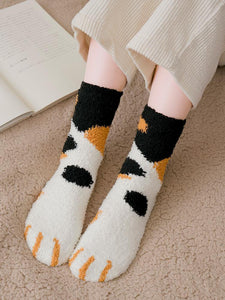 Cute Cat Claws Thick Warm Socks (3 pairs)