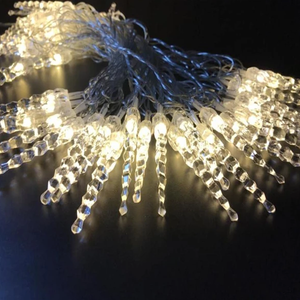 Icicle Fairy String Lights for New Year Christmas