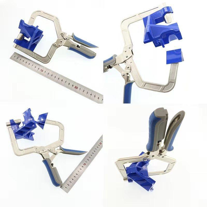 Multifunctional 90° Angle Woodworking Clamp