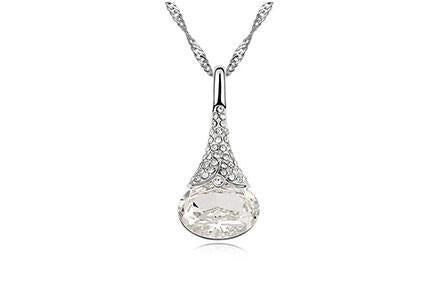 Crystal Water Drop Pendant - Florence Scovel - 4