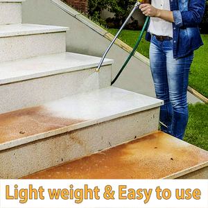 2-in-1 High Pressure Power Washer