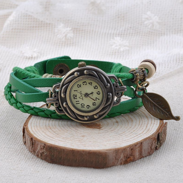 Leaf Vintage Wrap Watch - Florence Scovel - 9
