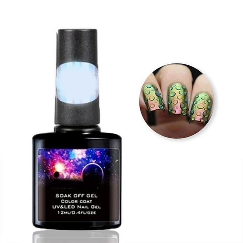 Water Droplets Gel Nail Polish