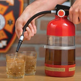 Fire Extinguisher Cocktail Shaker & Hose Dispenser Booze Cocktail Party Alcohol