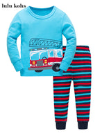 Children's Firefighter Pajama Set - Unisex, cotton pajamas for your little future firefighter.