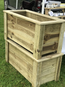 Bespoke Wooden Planters - Any size or shape you would like ! - Willow Leaf Gifts
