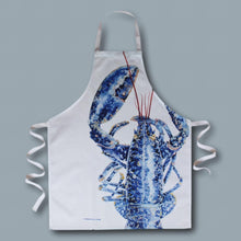 Load image into Gallery viewer, Blue Lobster Apron - Willow Leaf Gifts