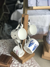 Load image into Gallery viewer, Mug Tree Handmade from Oak - Willow Leaf Gifts