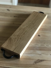 Load image into Gallery viewer, Baguette Board with handles - Made From Oak - Willow Leaf Gifts