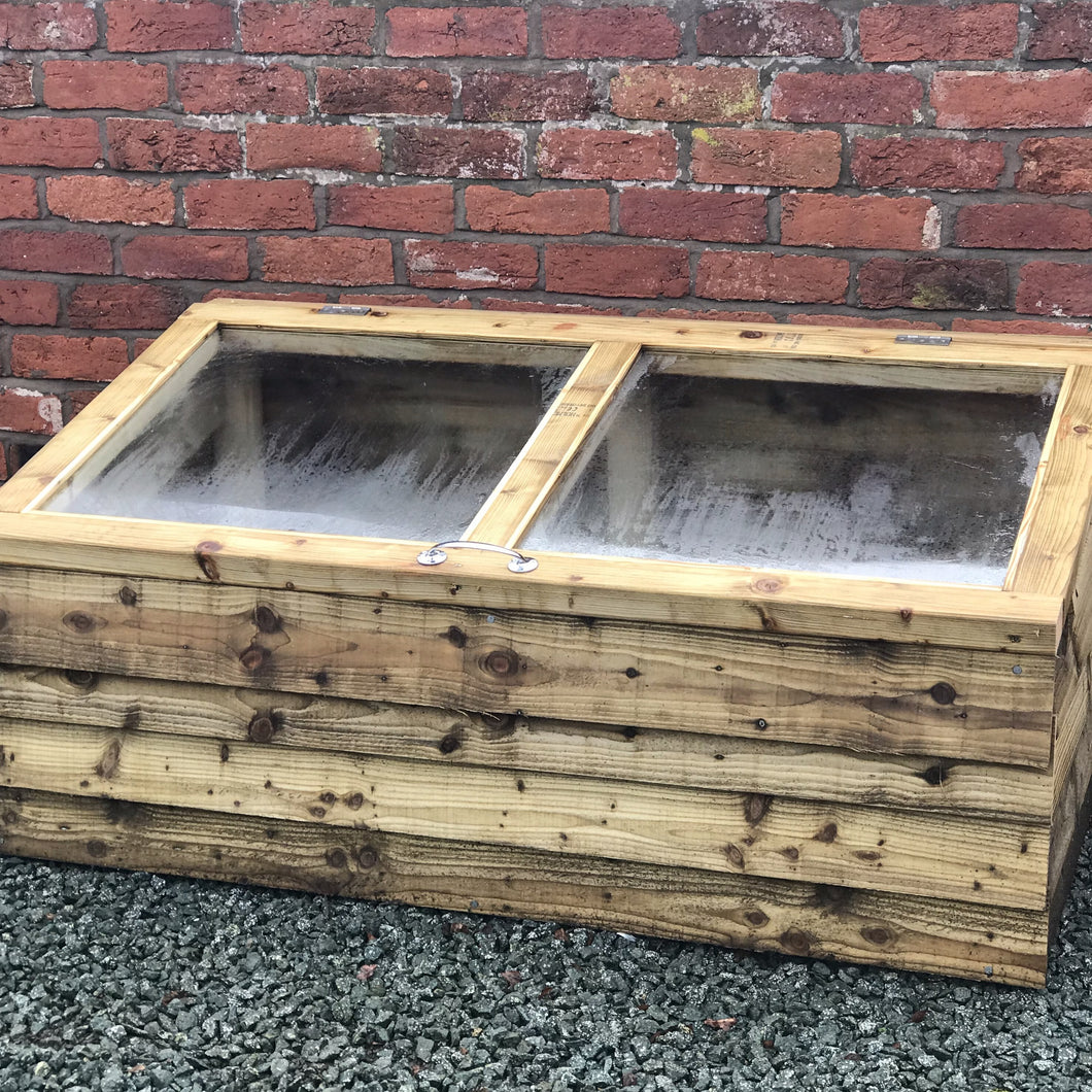 Boxington Solid Wood Cold Frame // Made To Order