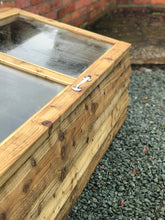 Load image into Gallery viewer, Boxington Solid Wood Cold Frame // Made To Order