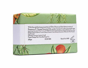 Rosemary and Orange Soap - Willow Leaf Gifts