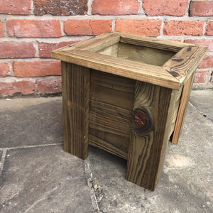 Wooden planter - Willow Leaf Gifts