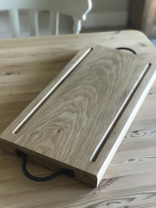 Oak BBQ/Carving Board - Willow Leaf Gifts