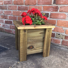 Load image into Gallery viewer, Wooden planter - Willow Leaf Gifts