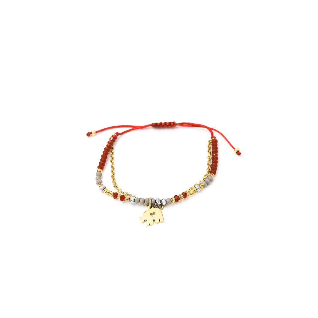 Pulsera Julieta Simple C111 H-Guinda
