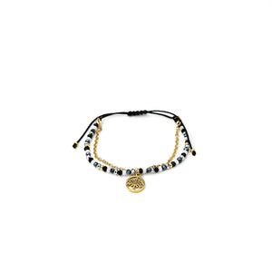 Pulsera Julieta Simple C135 H-Negro