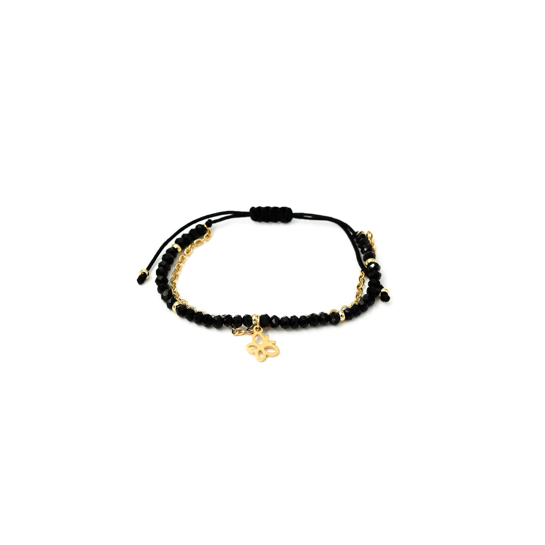 Pulsera Julieta Simple Negra
