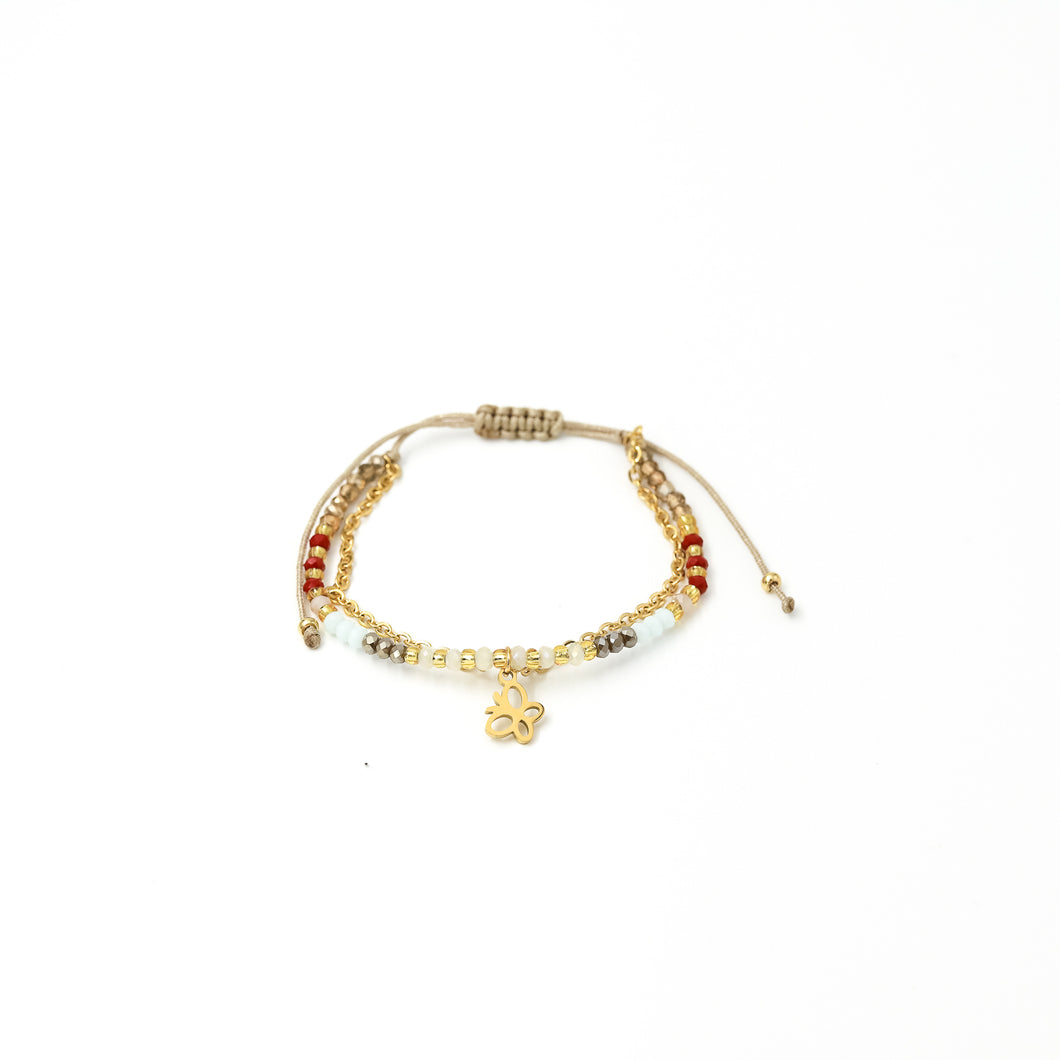 Pulsera Julieta Simple C105 H- Beige
