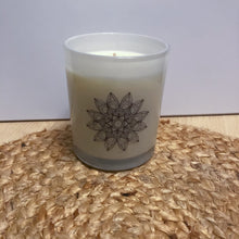 Load image into Gallery viewer, Mandala Soy Wax Candle - Evoking Serenity