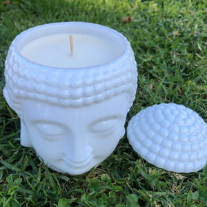 Buddha Soy Wax Candle - Evoking Serenity