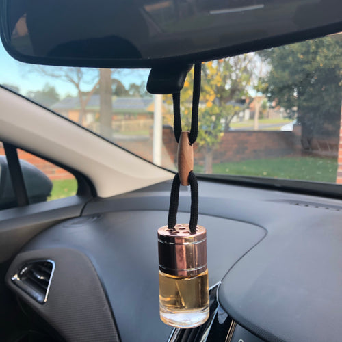 Car Diffuser - Rose Gold - Evoking Serenity