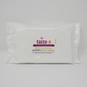 TAZZA® 70% Alcohol-Based Hand Sanitizing Wipes