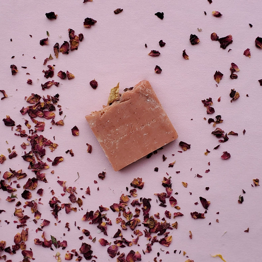 Savon à la rose Symbiose