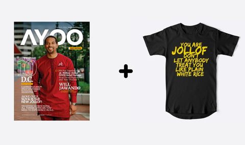 You Are Jollof Tee + Ayoo Mag (Digital)