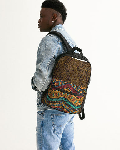 color Small Canvas Backpack