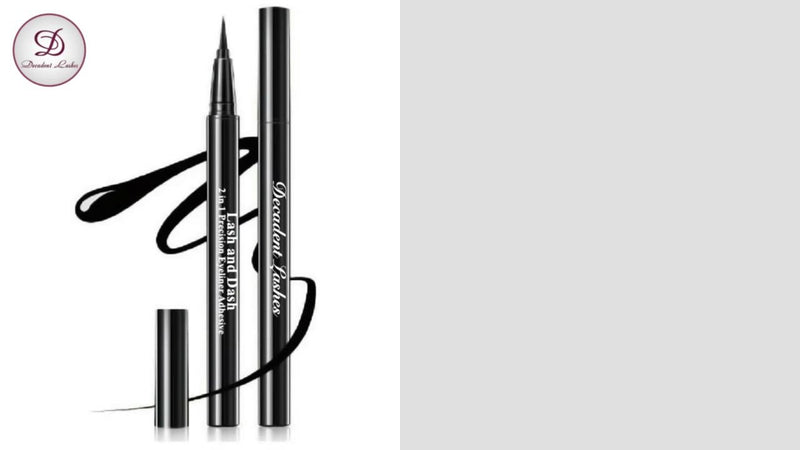 Lash & Dash 2 in 1 Precision Eyeliner Adhesive (Black)