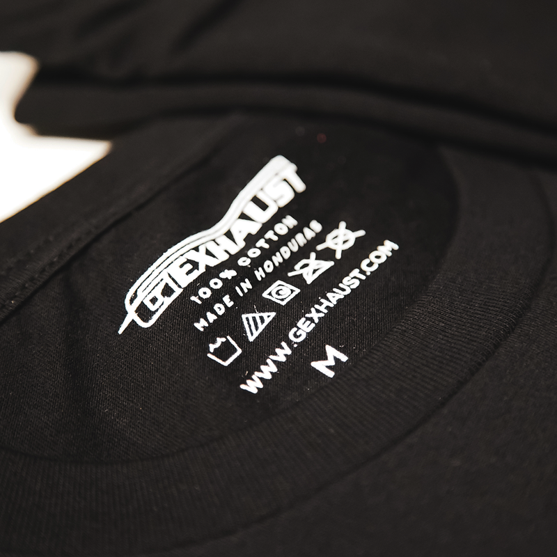 Custom Inside Tags Branded Screen Printed ™