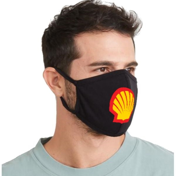 USA printed 3 Layer Cotton Face Mask, quick ship