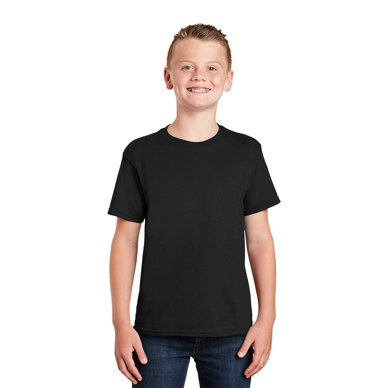 8000B Gildan® - Youth DryBlend® 50 Cotton/50 Poly T-Shirt