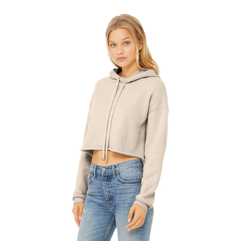Bella + Canvas BC7502 Women's Sponge Fleece Cropped
