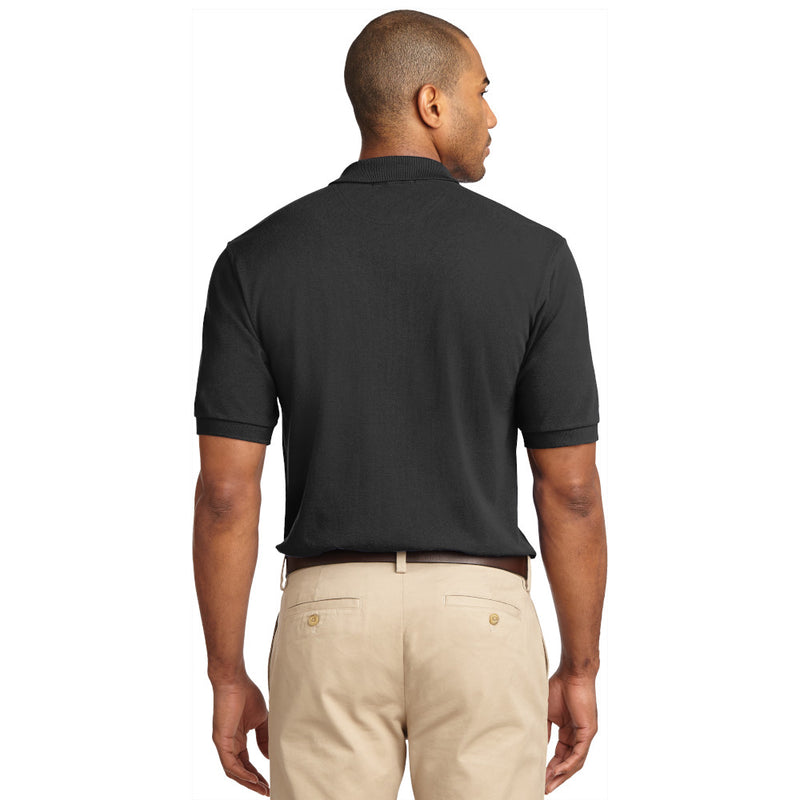 K420 Port Authority Heavy Cotton Pique Polo ™