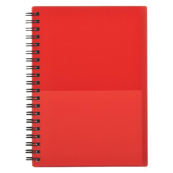 "5"" x 7"" Two-Tone Spiral Notebook"
