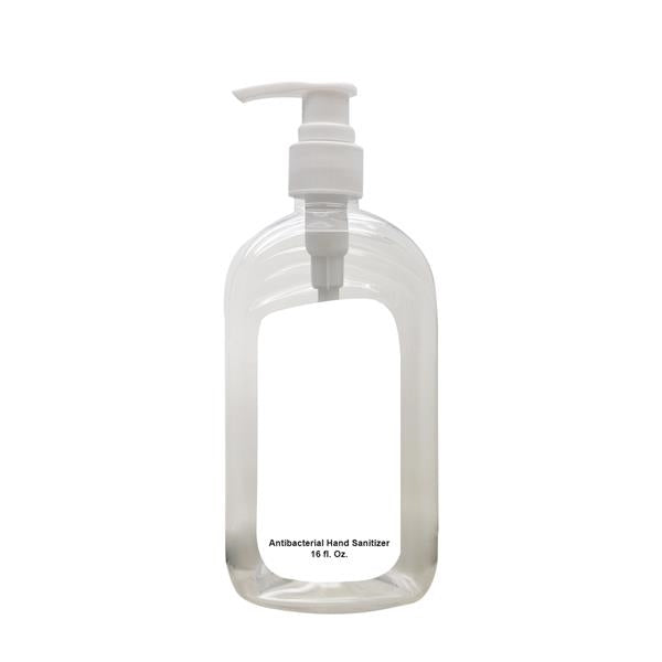 MForia® 16 Oz. Hand Sanitizer Pump Bottle