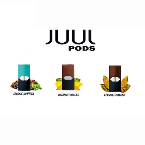 JUUL REFILL PODS 5% (Display of 8 Packs)