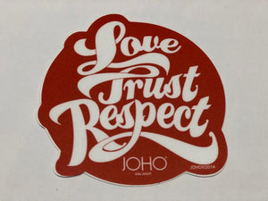 JOHO Outdoor Round Sticker