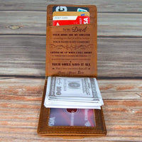 Son To Dad- Shelter - Money Clip Wallet