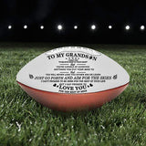 TO MY GRANDSON- You Will Never Lose- Football