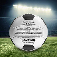 To My Daughter - You Will Never Lose - Soccer