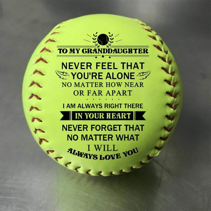 I Will Always Love You - Softball To My GrandDaughter